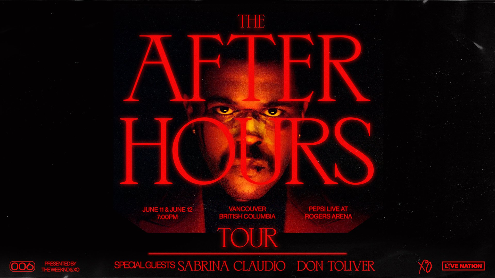 Second Show Added The Weeknd The After Hours Tour Rogers Arena
